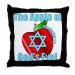 Apple God's Eye Throw Pillow