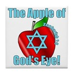 Apple God's Eye Tile Coaster