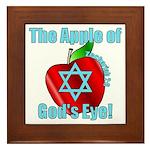 Apple God's Eye Framed Tile