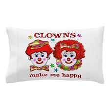 CLOWN Happy Pillow Case