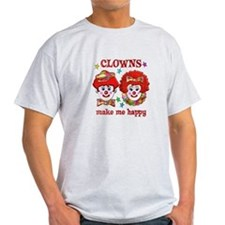 CLOWN Happy T-Shirt