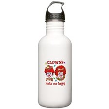 CLOWN Happy Water Bottle