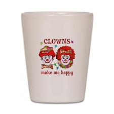 CLOWN Happy Shot Glass