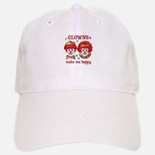 CLOWN Happy Baseball Baseball Cap