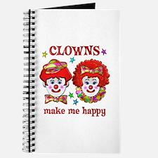 CLOWN Happy Journal
