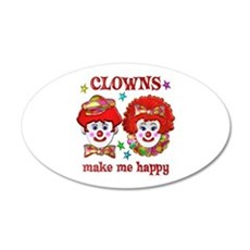 CLOWN Happy Wall Sticker