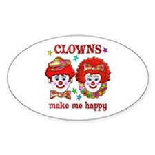 CLOWN Happy Decal