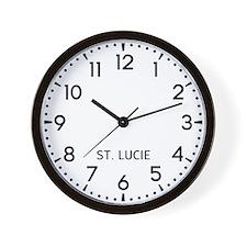 St. Lucie Newsroom Wall Clock