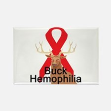 Hemophilia Rectangle Magnet