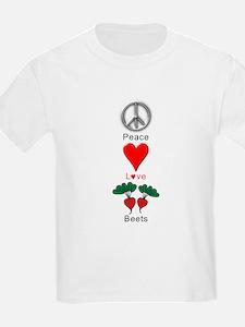 Peace Love Beets T-Shirt