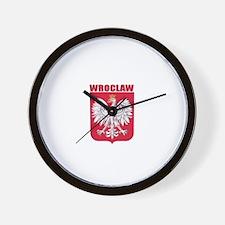 Wroclaw, Polska Wall Clock