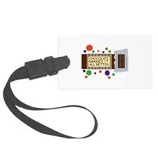 Chocolate Makes It All Better Luggage Tag