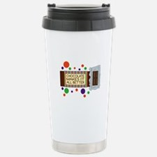 Chocolate Makes It All Better Travel Mug