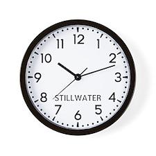 Stillwater Newsroom Wall Clock