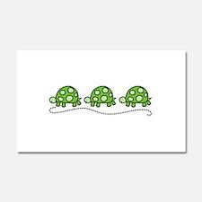 Turtles Car Magnet 20 x 12