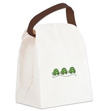 Turtles Canvas Lunch Bag