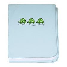 Turtles baby blanket