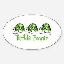 Turtle Power Decal