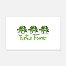 Turtle Power Car Magnet 20 x 12
