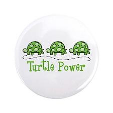"Turtle Power 3.5"" Button"