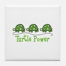 Turtle Power Tile Coaster