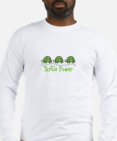Turtle Power Long Sleeve T-Shirt