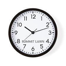 Summit Lawn Newsroom Wall Clock
