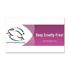 Cute Animal rights Rectangle Car Magnet