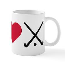 I love Field hockey clubs Mug