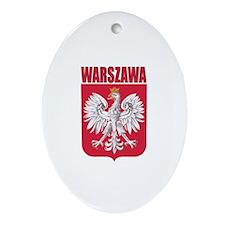 Warszawa, Polska Oval Ornament