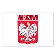 Warszawa, Polska Postcards (Package of 8)