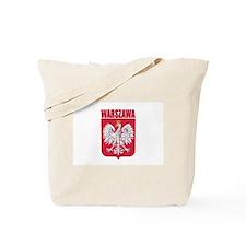Warszawa, Polska Tote Bag