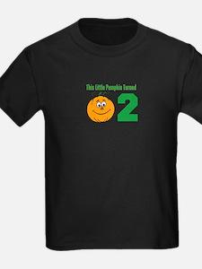 Little Pumpkin Turned Two T-Shirt