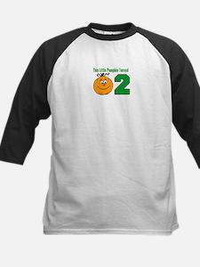 Little Pumpkin Turned Two Baseball Jersey