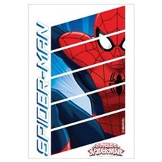 Spiderman Stack Wall Art Framed Print