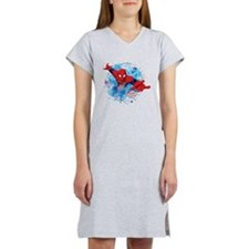 Spiderman Web Women's Nightshirt