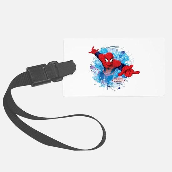 Spiderman Web Luggage Tag