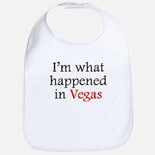 Im What Happened In Vegas Bib