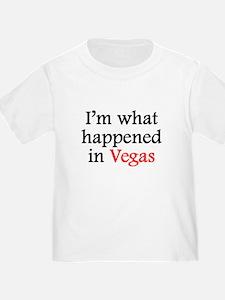 Im What Happened In Vegas T-Shirt