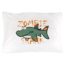 Zombie Shark Pillow Case