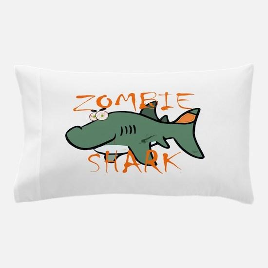 Zombie Shark Pillow Case