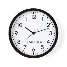 Temecula Newsroom Wall Clock