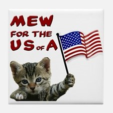 mew-for-the-usa.jpg Tile Coaster