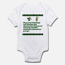 Irish Saying, Blessings and T Infant Bodysuit