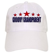 Groovy Grandparent Baseball Cap