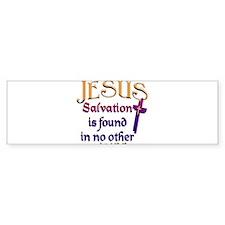jesus_salvation Bumper Bumper Sticker
