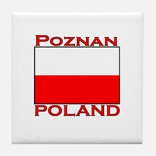 Poznan, Poland Tile Coaster