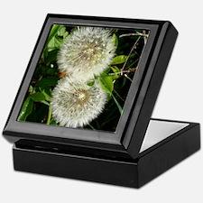Dandelion Flower Keepsake Box