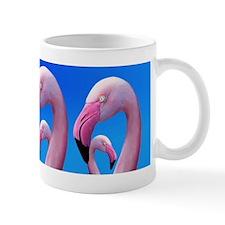 Pink Flamingo Portrait Close Up Mugs