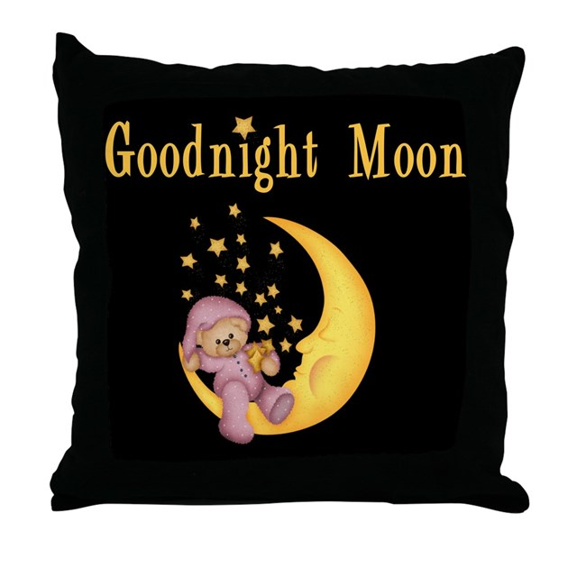 Good Night Moon Throw Pillow By Stylesplus